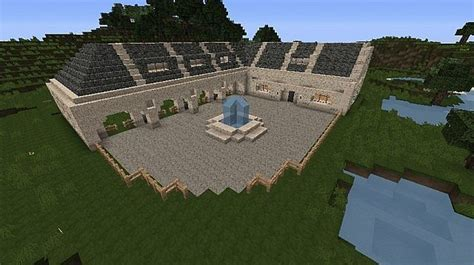 Minecraft Pe Barn by Minecraft Barn With Paddocks Search This