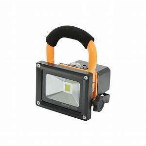 Portable led flood light w from rocking rooster