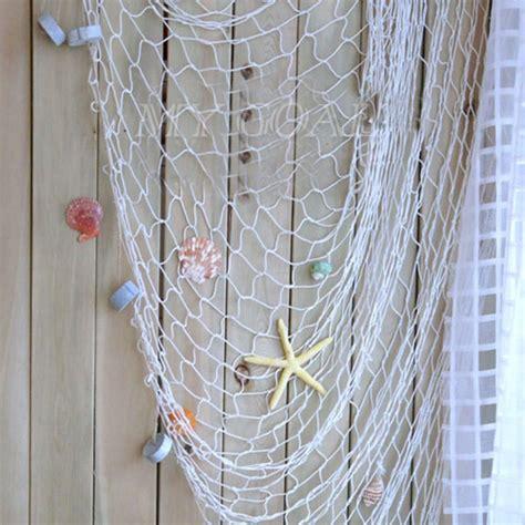 uk decorative nautical fishing balloon net beach scene