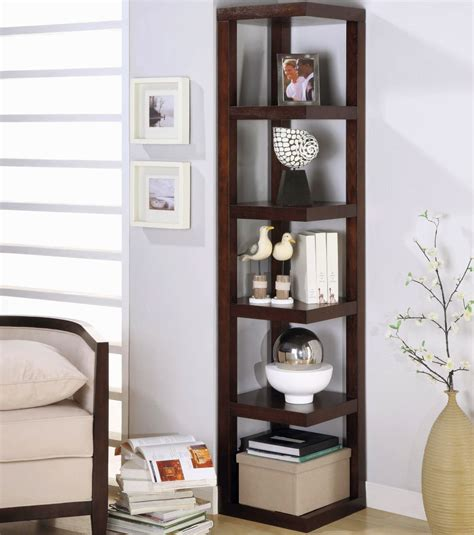 modern corner shelf contemporary small corner shelving unit