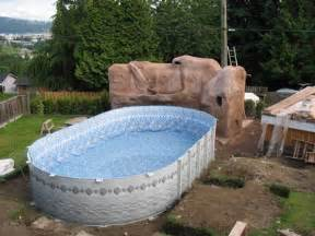 formal landscape pools and landscaping ideas around above