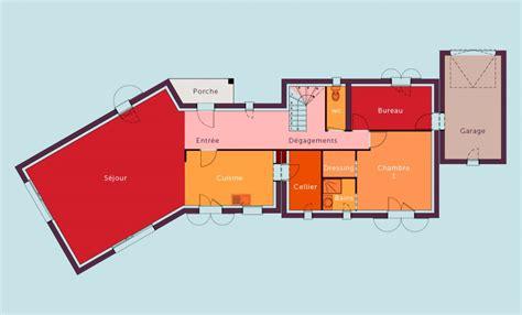 plan maison etage 4 chambres 1 bureau plan maison etage 4 chambres 1 bureau plan
