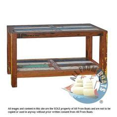 Timber Boat Shelf by Bench Andre Made From Reclaimed Boat Timber Nautical