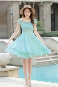 Layered Korean Fashion Dress