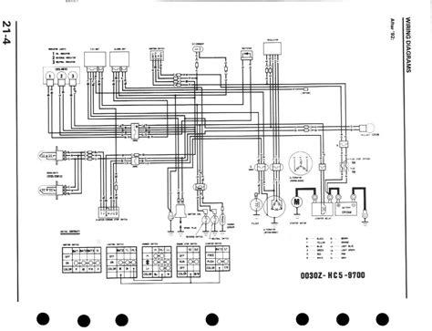 Honda Fourtrax Wiring Diagram Free
