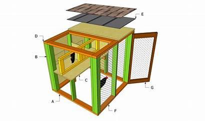 Coop Chicken Plans Simple Coops Building Op