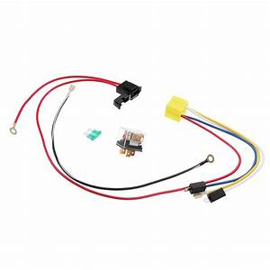 12v Dual Tone Electric Air Horn Wiring Harness Relay For