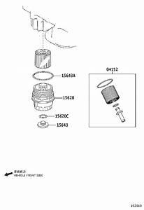 1562031060 - Cap Assembly  Oil Filter  Engine  Cooler