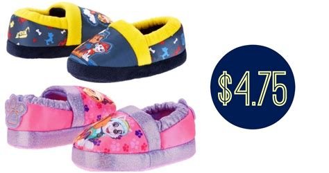 toddler paw patrol slippers   southern savers