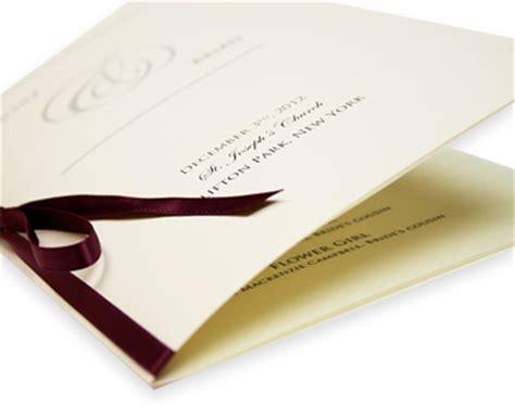 diy wedding programs blank wedding programs