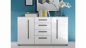 Kommode Weiß Hochglanz 150 Cm : sideboard cantara kommode in wei hochglanz b 150 cm ~ Bigdaddyawards.com Haus und Dekorationen