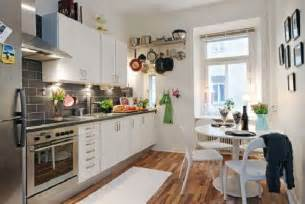 decoration ideas for kitchen hunky design ideas of small apartment kitchens with wooden floors also corner table set plus