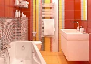 quel carrelage choisir pour une salle de bain trouver With carrelage rouge salle de bain