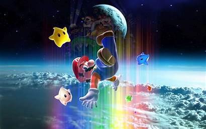 Mario Galaxy Super Wallpapers Desktop Resolution Looking