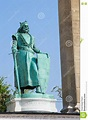 Statue Of Hungarian King Charles I In Budapest, Hungary ...