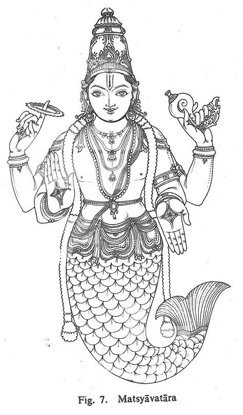Matsyavatara | Hinduism art, Hindu art, God art