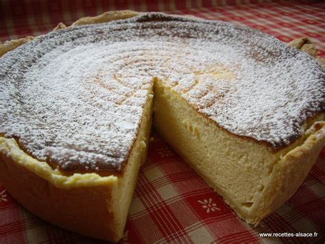 cuisine alsacienne tarte au fromage blanc recettes d 39 alsace