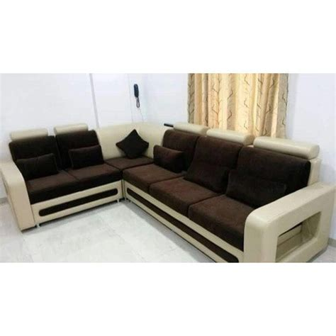 L Shape Sofa Sets by Designer Sofa Set Shape L Shape Rs 26000 Unit Nagoore