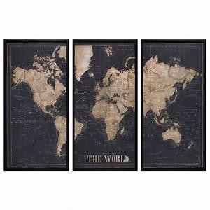tableau noir achat vente de tableau pas cher With triptyque maison du monde