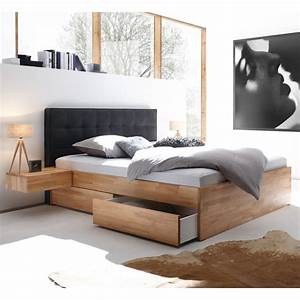 Bett Weiß 160x200 Holz : hasena function comfort bett mit bettkasten und schubladen ~ Markanthonyermac.com Haus und Dekorationen