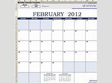 Monthly Budget Calendar Excel calendar month printable
