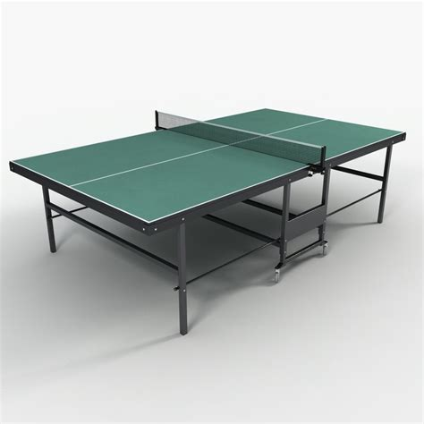 ping pong the original table 3ds max ping pong table