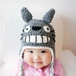 Totoro Baby Hat Crochet Pattern