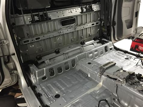 tacoma access cab audio install sound deadening