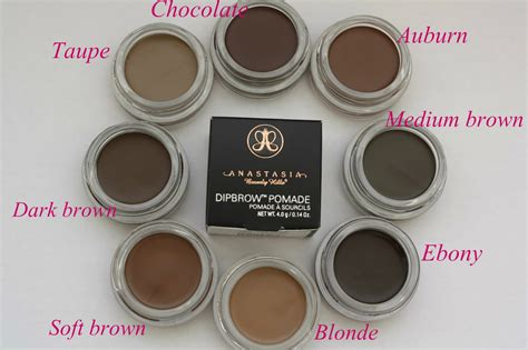 Waterproof brow color ideal for sculpting, defining, and carving perfectly precise brows that won't fade. Dipbrow Pomade - Studio 5 Arendal