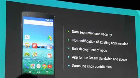 android for work android work la nueva aplicaci 243 n de oculta en la