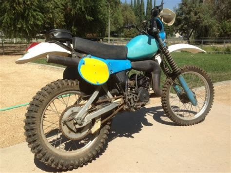 Used Suzuki Dirt Bikes For Sale by 1981 Yamaha It 175 Dirt Bike Blue White For Sale In La