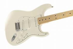 Fender Standard Stratocaster U00ae  Maple Fingerboard  Arctic White