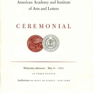american academy of arts and letters awards and honors 183 modern literature collection the 20439