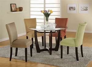 Bloomfield Dinette 5pc Set In Cappuccino By Coaster
