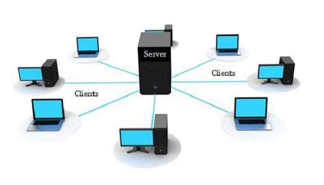 komputer client  server pengertian perbedaan fungsinya