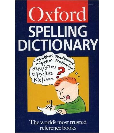the oxford spelling dictionary oxford paperback reference buy the oxford spelling dictionary