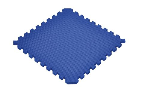 Norsk Sport Floor Mats by New Norsk Solid Blue Sport Foam Floor Mats
