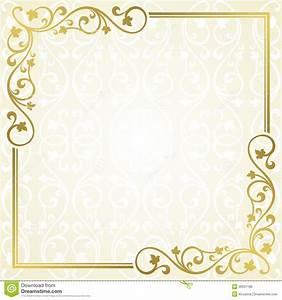 Floral invitation card stock vector Illustration of