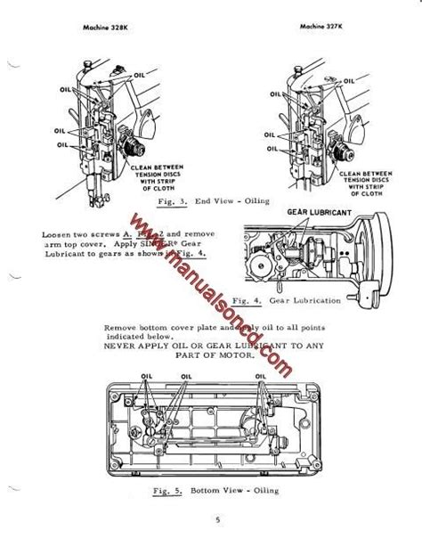 Elgin Wiring Schematic by Singer 327k And 328k Sewing Machine Service Manual Covers