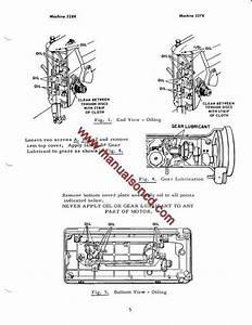 Singer 327k And 328k Sewing Machine Service Manual  Covers