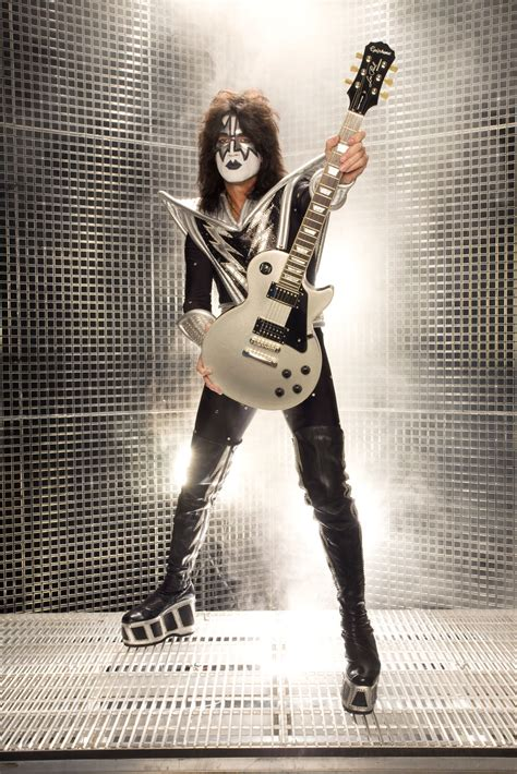 epiphone limited edition tommy thayer spaceman les paul standard keymusic