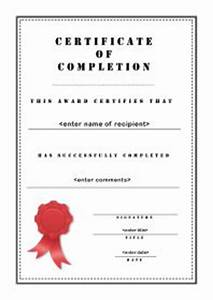 certificates of appreciation templates for word certificate of completion 003