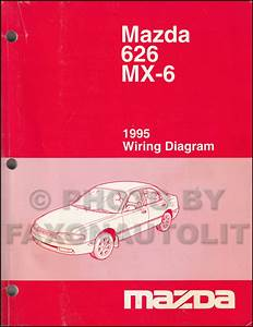 199mazda 626 And Mx 6 Wiring Diagram Manual Original