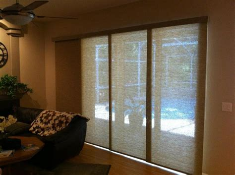 sliding patio door window treatments photos