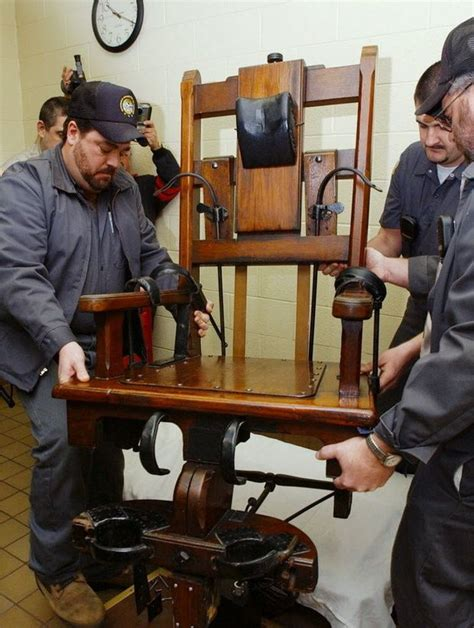 Electric Chair Execution Wrong by Faced With Same Execution Shortage As Ohio Tennessee