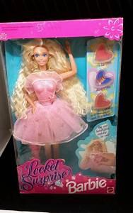 Barbie Locket Surprise 10963 Mattel 1993 NRFB NIB PInk ...