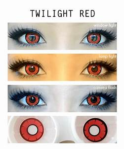 Twilight Red Colored Contacts | LensVillage