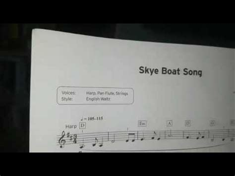 Skye Boat Song Trinity Grade 2 by Trinity College Level 2 Skye Boat Song Played By 8 Year