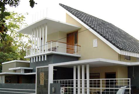 desain rumah tingkat atap miring tukang desain rumah