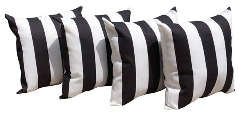 mill creek finnigan vertical stripe black white outdoor